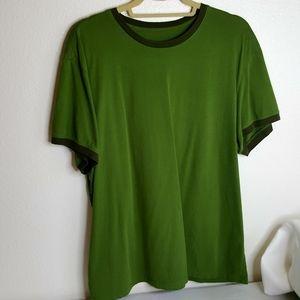 Mens Green Banana Republic short sleeved T XL